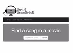 Sweet Soundtrack, nou web per buscar la banda sonora de les pel·lícules (SWEET SOUNDTRACK)