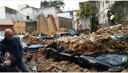 Más de 1.650 emergencias registradas en Andalucía por el temporal, que deja dos fallecidos