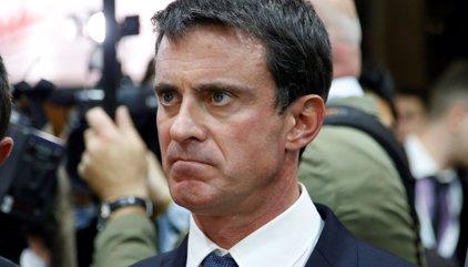 Valls sería quinto en primera vuelta, con Fillon como primera opción y Le Pen segunda