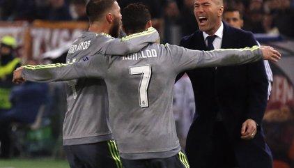 """Ramos: """"Zidane sigue teniendo la magia que nos deslumbró como jugador"""""""