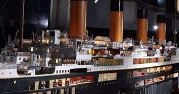 La maqueta más grande construida en el mundo del Titanic estará a partir...