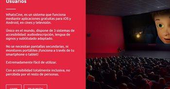 WhatsCine llega a EEUU y América Latina para hacer accesible cine y...