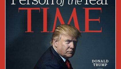 Donald Trump, persona del año para la revista 'Time'