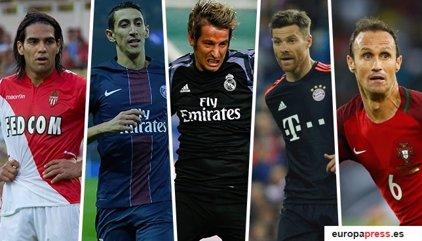 Los cinco futbolistas investigados por delitos fiscales son Di María, Carvalho, Xabi Alonso, Coentrao y Falcao