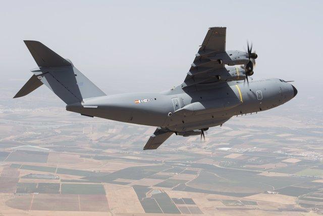 Primer vuelo del primer A400M para España