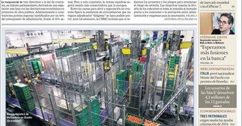 Las portadas de los periódicos económicos de hoy, jueves 8 de diciembre