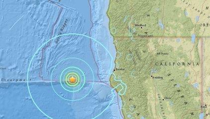 Un terremoto de 6,5 sacude el norte de California