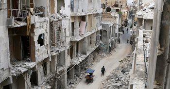 El régimen sirio suspende sus operaciones militares contra la zona...