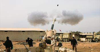 Las tropas iraquíes se retiran del hospital de Mosul tras una dura...