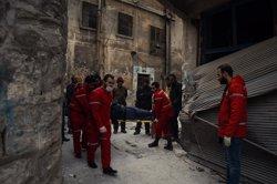 Rússia assegura que uns 8.500 civils sirians han abandonat les zones rebels d'Alep (TWITTER/@SARC_ALEPPO  )