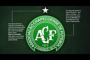El Chapecoense cambia su escudo tras la tragedia aérea añadiendo dos estrellas en recuerdo de las víctimas