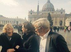 Colau reivindica al Vaticà el rol de les ciutats en l'acollida dels refugiats (AJUNTAMENT DE BARCELONA)