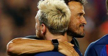 """Luis Enrique: """"No me atrevo a decir que Messi renovará"""""""