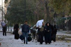 Més de 50.000 civils han abandonat Alep des del començament de la treva (SANA SANA/REUTERS)