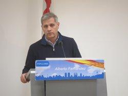 Alberto Fernández (PP) demana a Colau no polititzar el drama dels refugiats (EUROPA PRESS)