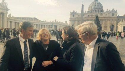"""Colau celebra que el Vaticà recolzi """"la idea de ciutat-refugi"""""""