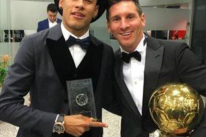 Neymar y Messi, considerados jugadores más valiosos que Cristiano Ronaldo según 'France Football'