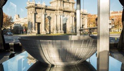 La Estrella de la Muerte toma forma en la Puerta de Alcalá