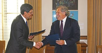 Telefónica Educación Digital y la OEA se comprometen a cooperar juntos en...