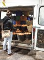Foto: Detenido un hombre por robar 2.600 kg de naranjas de los campos en los que trabajaba
