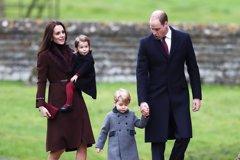 Kate Middleton viste con moda española al príncipe George por Navidad