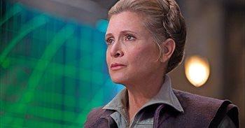 Carrie Fisher terminó de rodar Star Wars 8 antes de su muerte