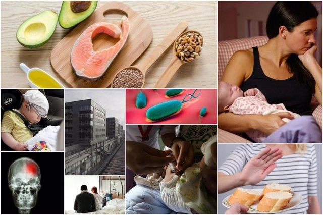 Collage lo más leido en Infosalus 2016