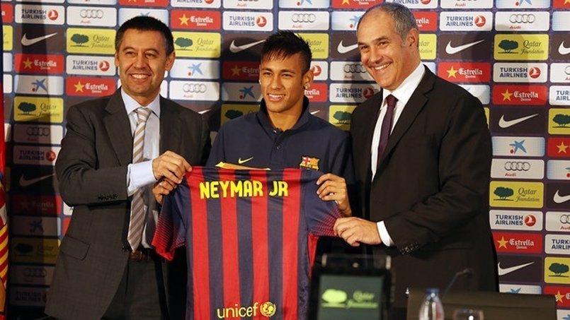 """Bartomeu reconoció ante el juez un """"pago anticipado"""" para """"atar"""" a Neymar"""