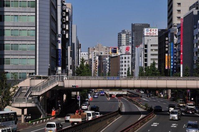 Carretera, casa, ciudad