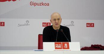 """Elorza cree que el comité federal  del PSOE """"viene cargado de malas..."""