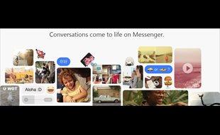 Cómo cambiar nombres y colores en tus chats de Facebook Messenger
