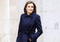 La Reina Letizia adelanta el 'Blue Monday' con su estilismo