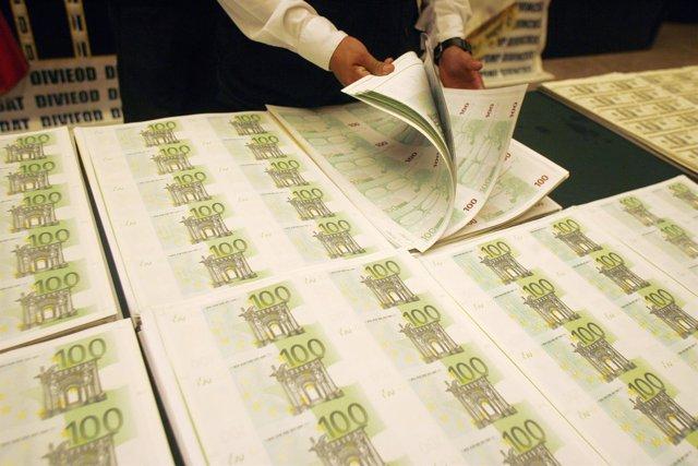 Sábanas de euros