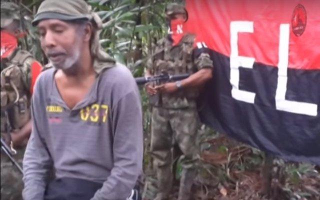 Odín Sánchez, secuestrado por el ELN