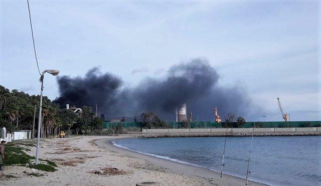 Incidente en la factoría de Acerinox en Los Barrios