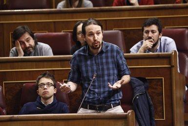 "Iglesias centra l'estratègia a Podem a construir ""moviment popular"" i demana als seus parlamentaris ser activistes (EUROPA PRESS)"