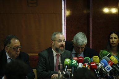 Les famílies del Iak-42 critiquen que l'Estat no faci fora Trillo i que no hi hagi responsabilitat política (EUROPA PRESS)