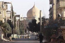 Més d'una trentena de morts en una gran ofensiva de l'Estat Islàmic a Deir al Zor (EUROPA PRESS)