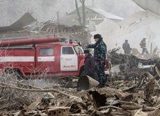 32 morts pel sinistre d'un avió de càrrega turca al Kirguizistan (REUTERS)