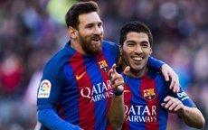 Luis Suárez iguala Messi al Pichichi després del seu doblet davant Les Palmes (LALIGA)