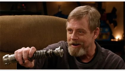 VÍDEO: Luke Skywalker se reencuentra con el sable láser de El retorno del Jedi