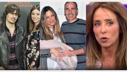 La felicidad de Dafne Fernández, Pelayo Díaz y Martina Klein frente al regreso de María Patiño y 'Las Campos'