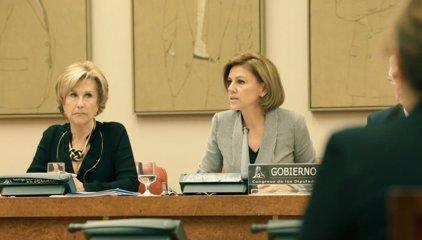 """Cospedal admite la """"responsabilidad"""" del Gobierno en el Yak por """"obligación moral"""""""