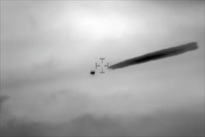 El Gobierno de Chile desclasifica imágenes militares de un OVNI