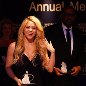 Shakira, protagonista indiscutible del Foro Económico Mundial de Davos