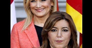 """PP contrapone fotos de Cifuentes y Susana Díaz: """"Cuando disfrutas de tu..."""