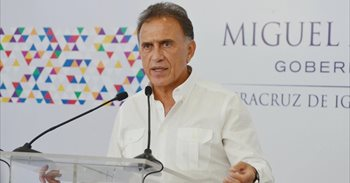 El gobernador de Veracruz señala que durante el mandato de Duarte se...