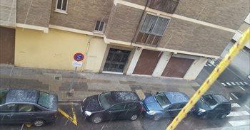 La calamarsa i la neu arriben a algunes zones de València