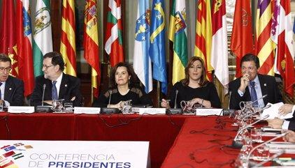 Conferencia.- Rajoy avisa a Cataluña de que seguirá adelante con la financiación autonómica aunque no participe