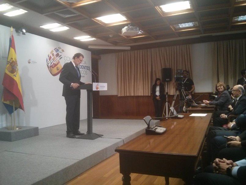 """Rajoy evita hablar de Bárcenas: """"Ese asunto ya está en los tribunales y dejemos a los tribunales que actúen"""""""